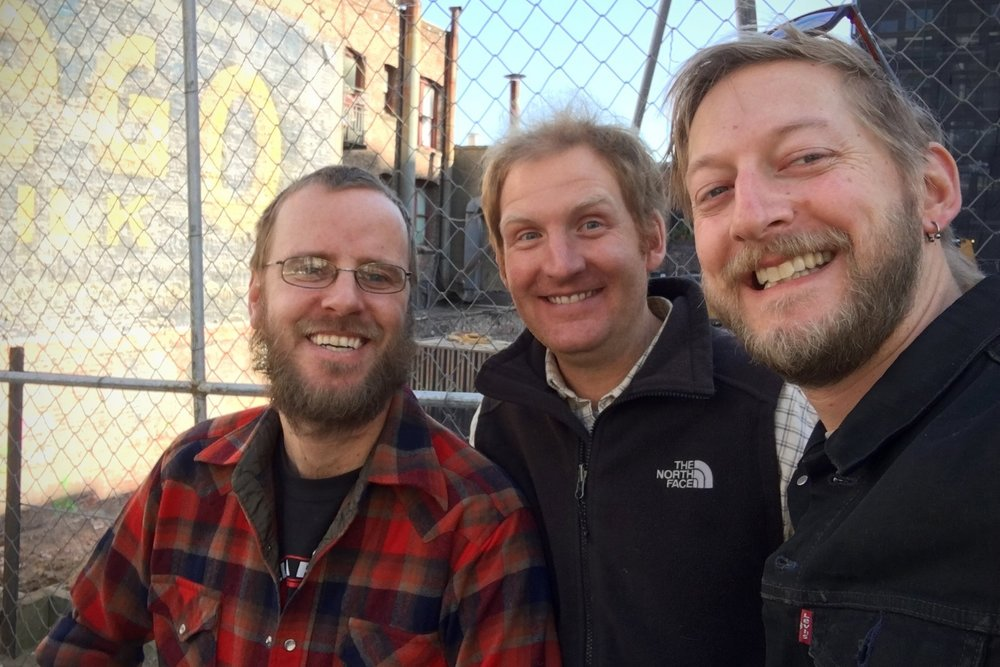 IN NO PARTICULAR ORDER BUT LEFT TO RIGHT -    IAN HEID   , TIM MILLS,    GREG MAXIMOV