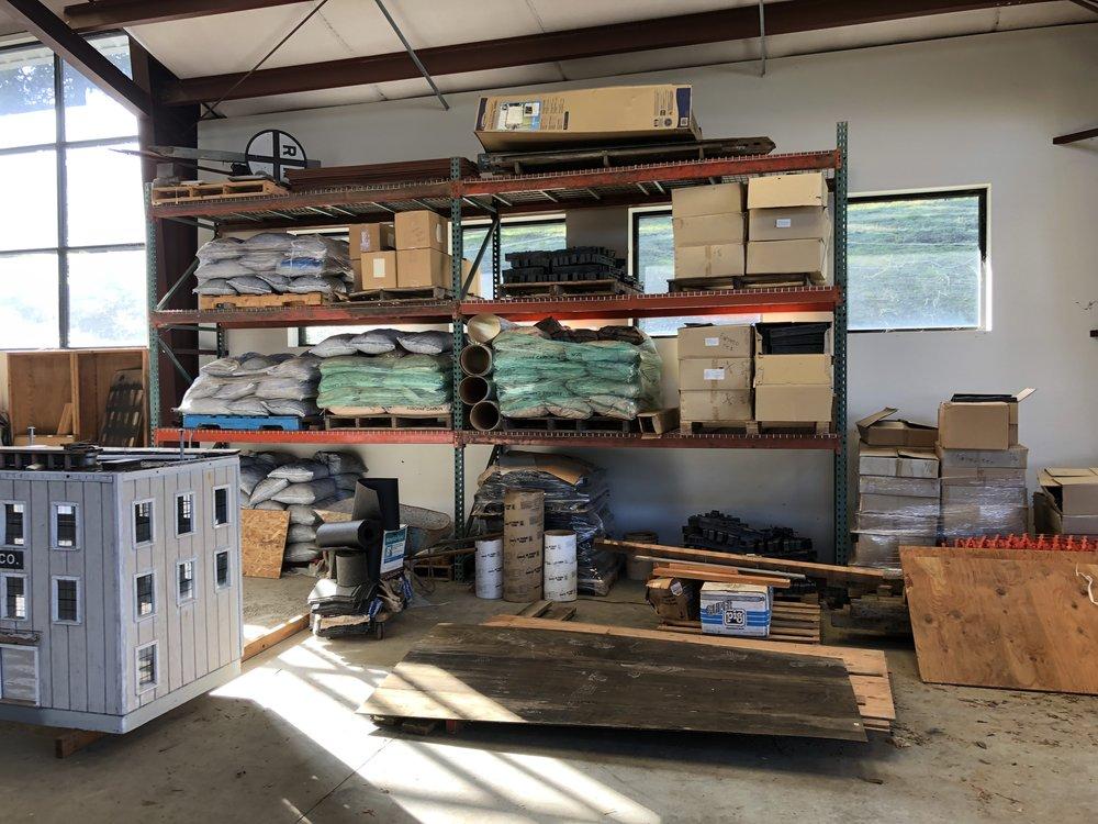 Parts & pieces storage