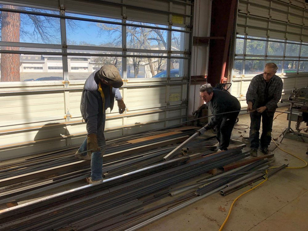 Making room for more steel!