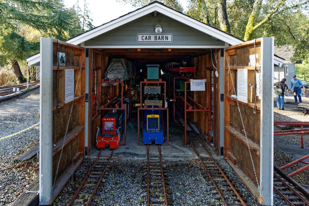 Car Barn - Main Yard