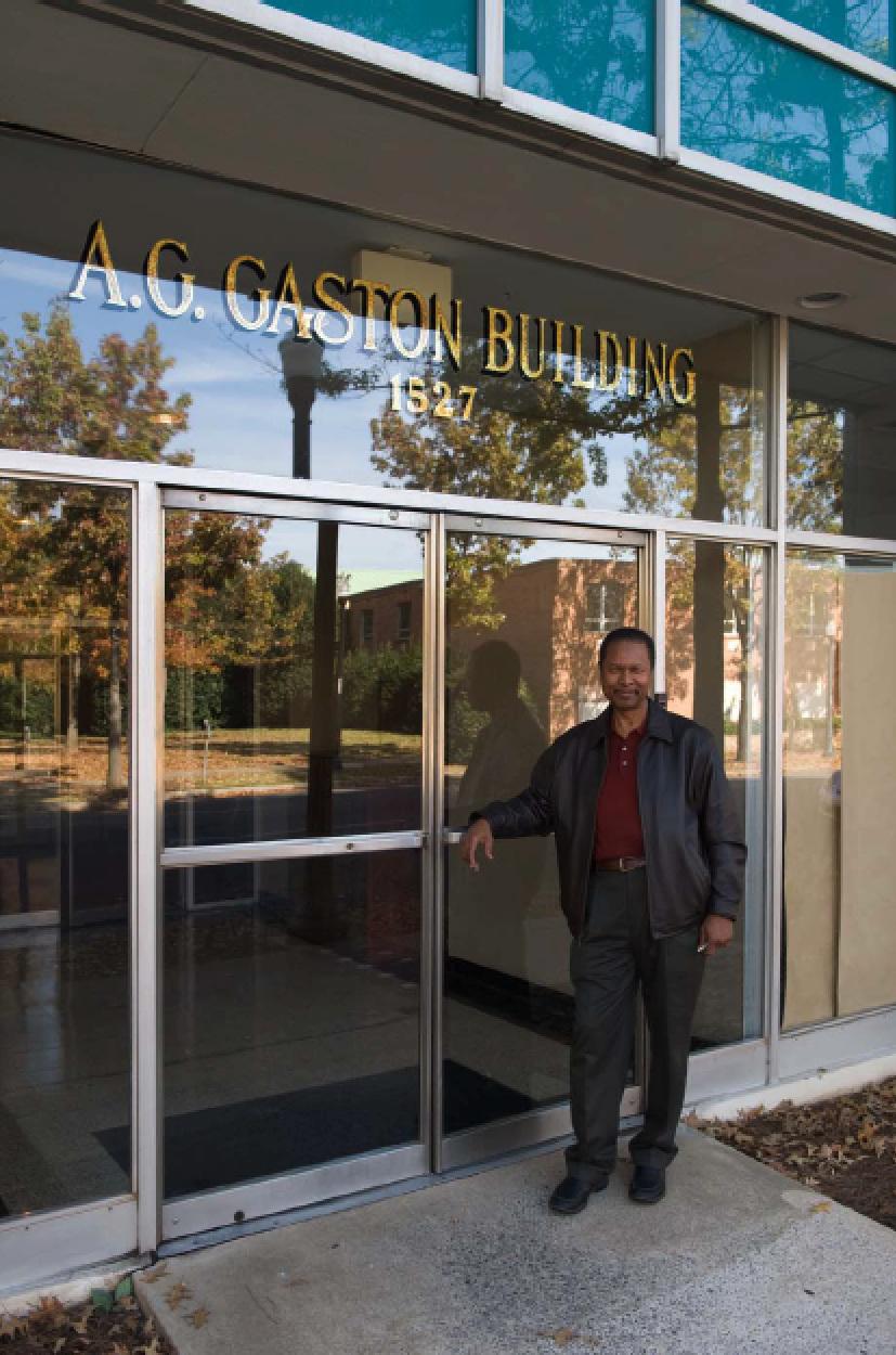 Dr. Richard Walker, Building Owner in 2009