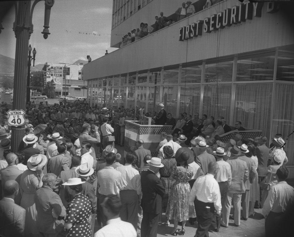 Grand opening, 1955