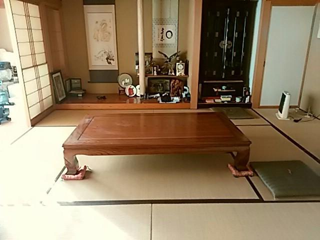 Traditional Japanese prayer room