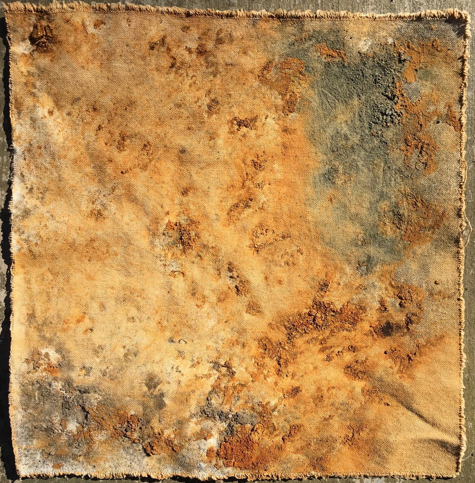 Arminée Chahbazian, 'Mineral' experiment. California.