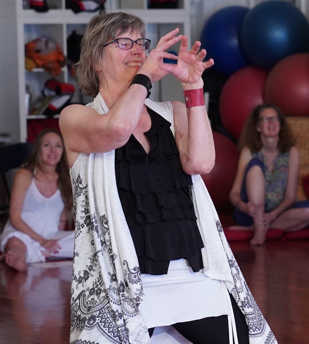 Karen Firebaugh - Nia 1st Degree Black Belt Teacher