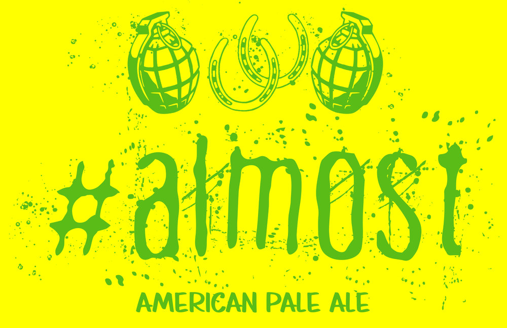 #Almost - This pale ale is full of caramel malt and citrusy hop flavors! Designed for any occasion that deserves a great beer.