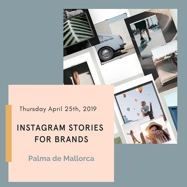We've launched a new workshop and it's first outing is in Palma de Mallorca at @hubmallorca. ⠀⠀⠀⠀⠀⠀⠀⠀⠀ ⠀⠀⠀⠀⠀⠀⠀⠀⠀ Instagram stories are incredibly popular and set to overtake the newsfeed views and are a great way for brands to connect with their Instagram audience. ⠀⠀⠀⠀⠀⠀⠀⠀⠀ ⠀⠀⠀⠀⠀⠀⠀⠀⠀ This  workshop will start with the basics and quickly dive into brand examples, how to create a simple story strategy, how to keep viewers retention and everything you need to know to confidently create and post stories that convert. ⠀⠀⠀⠀⠀⠀⠀⠀⠀ ⠀⠀⠀⠀⠀⠀⠀⠀⠀ Link to tickets in bio. ⠀⠀⠀⠀⠀⠀⠀⠀⠀ More dates for the Stories workshop coming soon.
