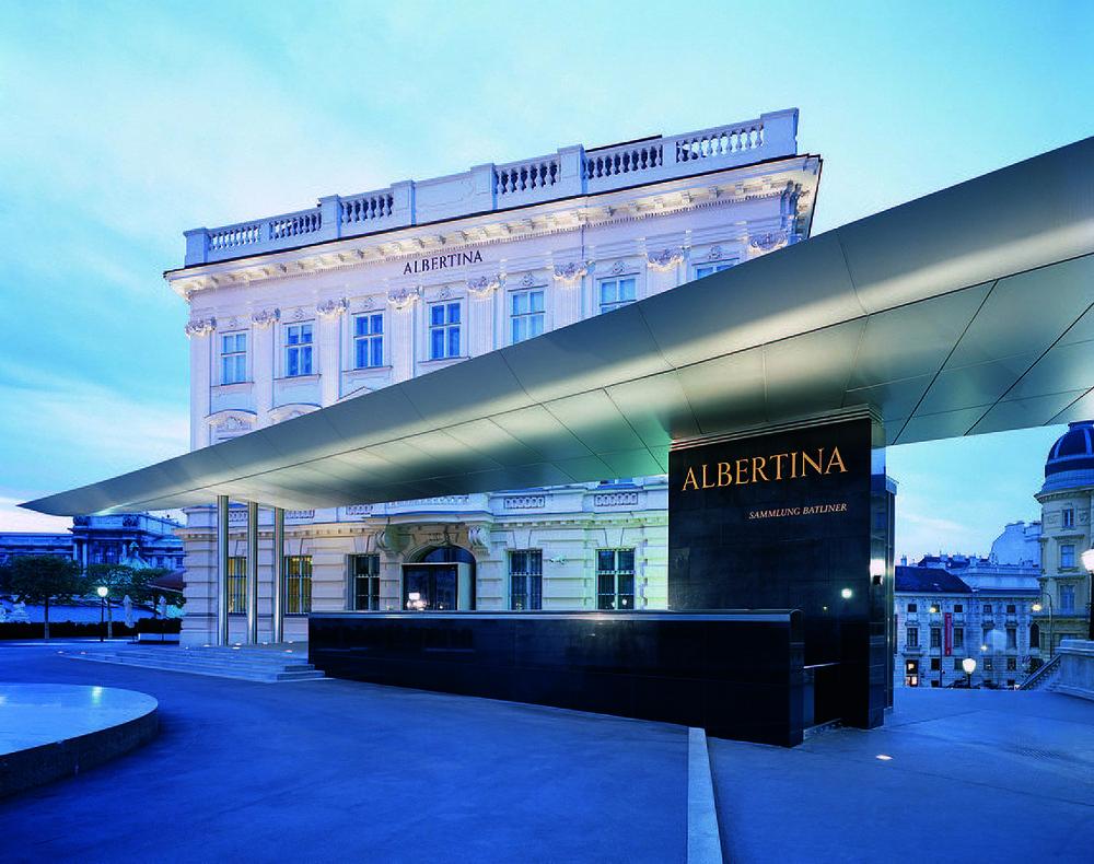 Albertina, Wien. Foto von Harald Eisenberger