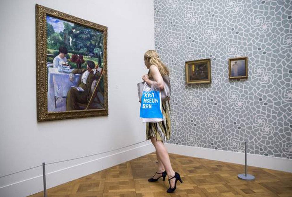 """""""Van Gogh bis Cézanne, Bonnard bis Matisse: Die Sammlung Hahnloser"""", Kunstmuseum Bern, 11.8.2017 – 15.4.2018. Foto von Reto Pedrini"""