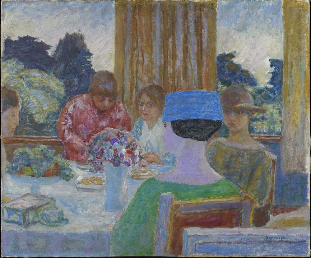 Pierre Bonnard, Le Thé, 1917