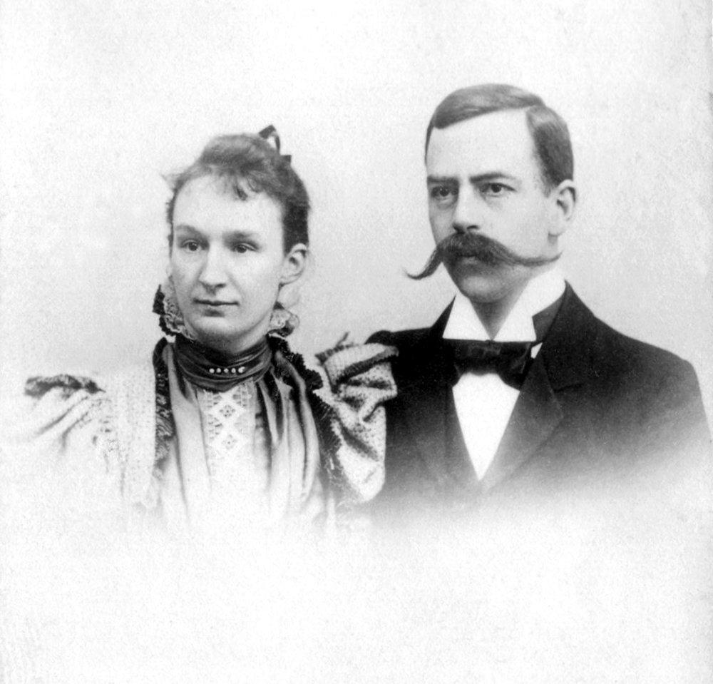 Hedy und Arthur Hahnloser-Bühler, 1898