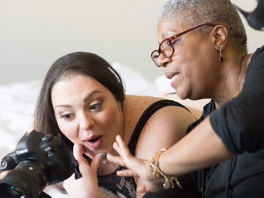 The best thing about boudoir is the reaction of a vibrant, beautiful and unique client when they see their pictures for the first time.
