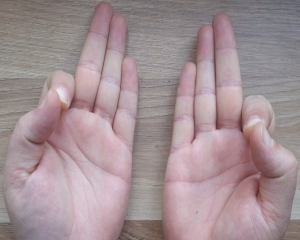 Gyan - Thumb to Index fingertip.