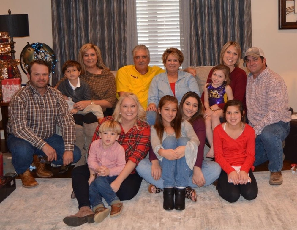 Gary, his wife Rayenell, Gary's daughters and sons-in-law: Jana and Steven Kent, Jennifer and Jeremy Langlois, and Megan Spillman along with his six grandchildren: Lexi, Maci, Kailynn, Emily, Wyatt, and Kade.