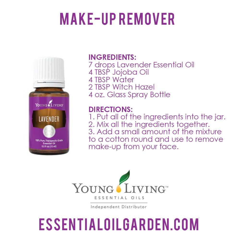 Young Living Lavender Makeup Remover