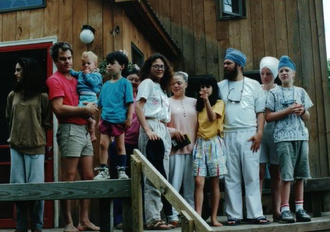 Family 1990: Three of my children, two of my brothers, two nephews, a niece and an my aunt Irene