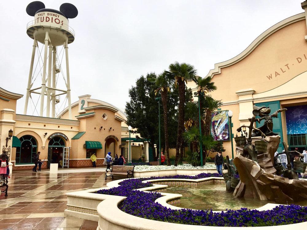 Disneyland Paris Studios Entrance