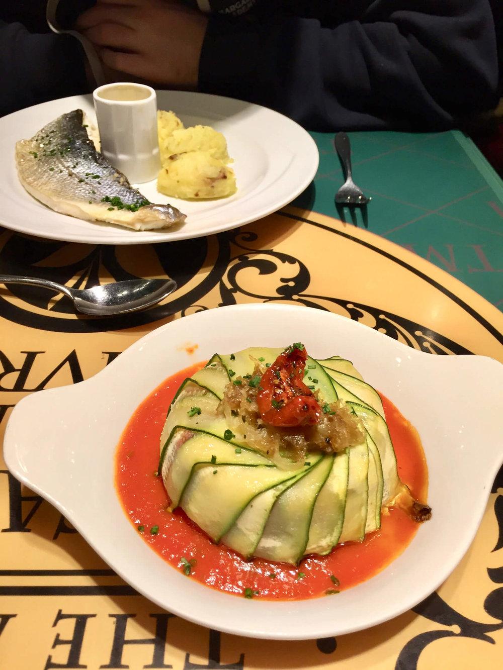 Disneyland Paris Chez Remy Food