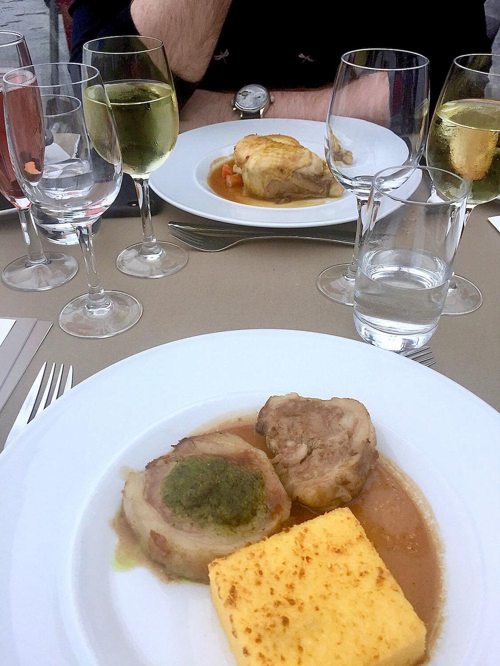 Bateaux Parisien - Food
