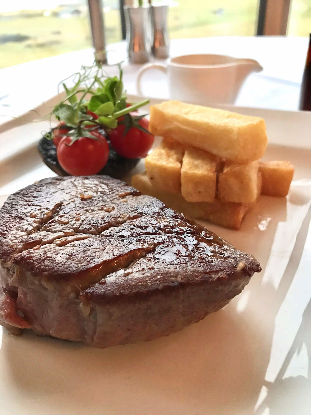 Road Hole Restaurant Steak