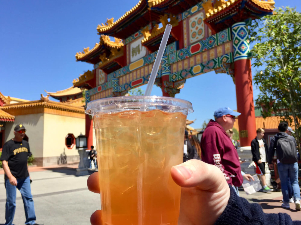 Joy of Tea Epcot Iced Tea