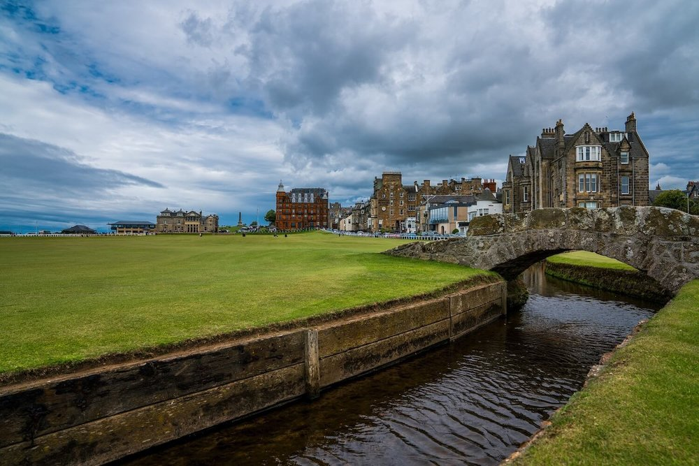 St Andrews Swilcan Bridge Old Course