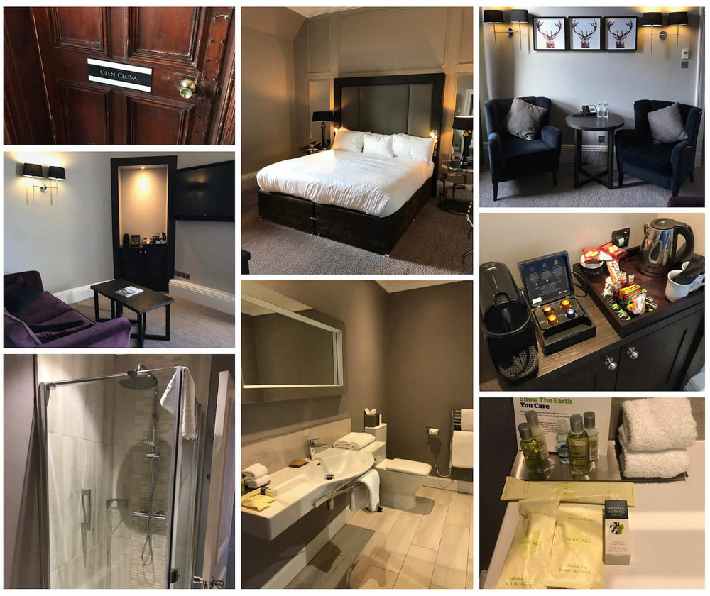 DoubleTree Dundee Glen Clova Suite Collage