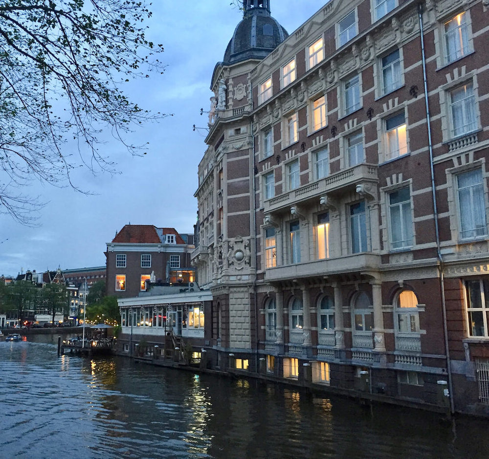 NH Collection Doelen Hotel In The Evening