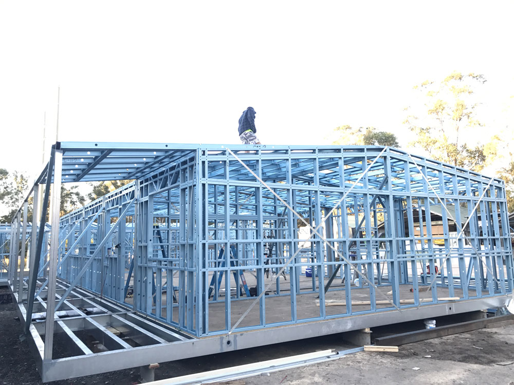 Australian Steel Wall Frames About