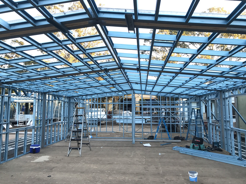 Australian Steel Roof Trusses About