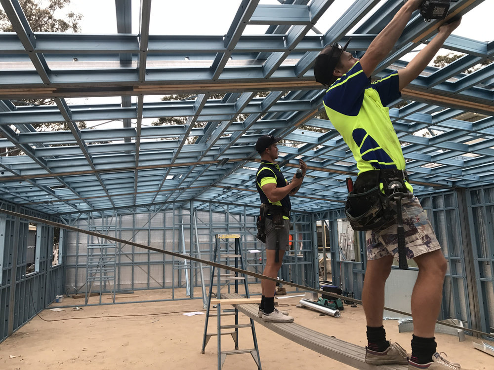 Australian Steel Framing Steel Roof Trusses