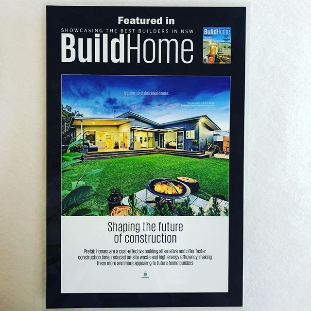 Our Shelly Beach project for client @broadworthmodular featured in BuildHome magazine  #buildhomemagazine #modularhome #prefabhouse #steelframe #steeltruss #broadworthmodular #truecoresteel #prefabricated #50yearwarranty