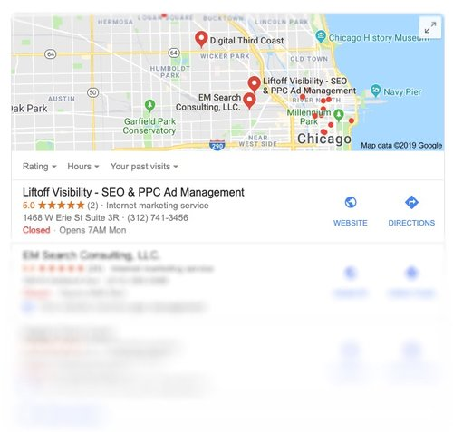 Rise to the Top of Google Map Search Results -