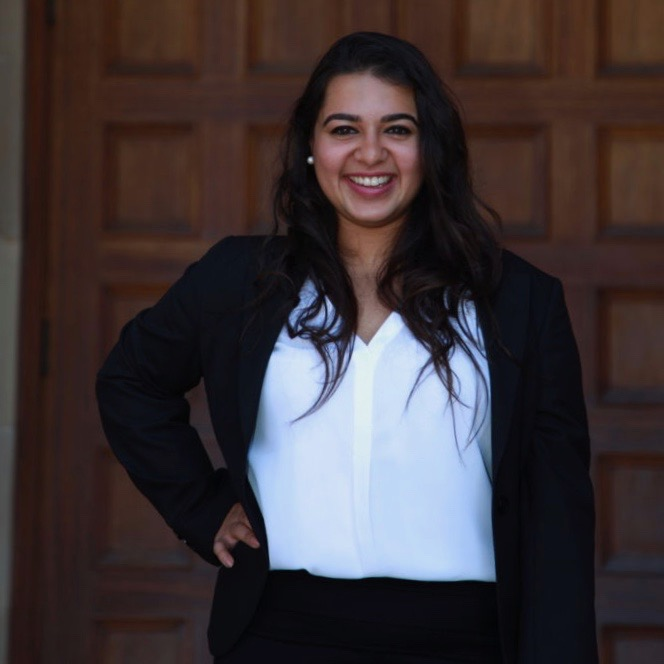 Vedika Sanghai  is the social media lead for CSS. She is a recent graduate from UCLA, where she completed a double major in Business Economics and Psychology with a minor in Entrepreneurship.
