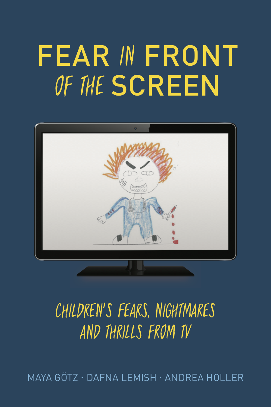 Want to learn more about… - fear experiences and also learn what 510 children from 5 countries told us about their nightmares from screen - Click here to check our book.
