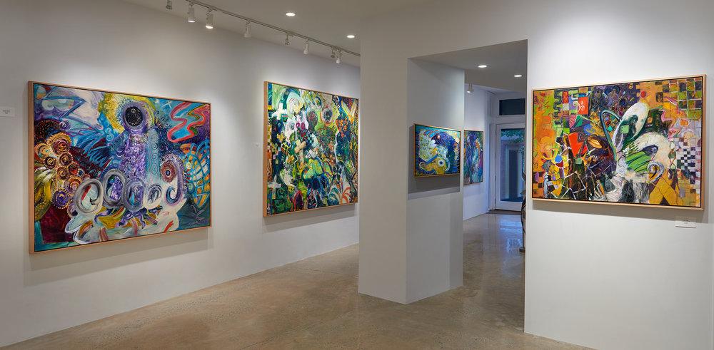 Installation View, C Parker Gallery, Greenwich CT