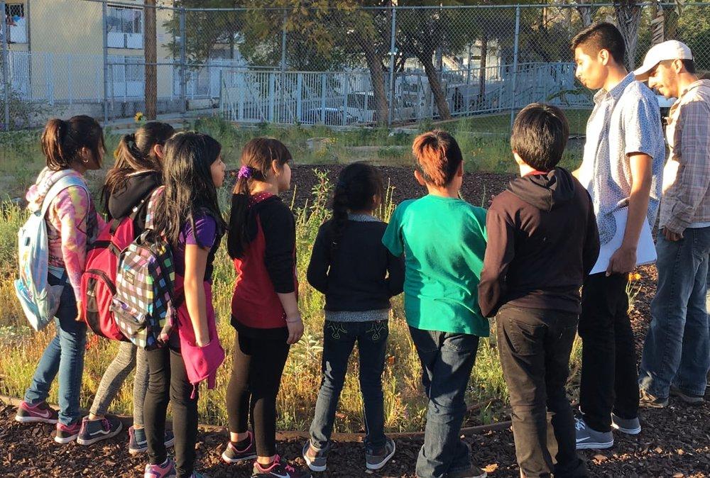 Los Angeles Audubon intern leads students 2017