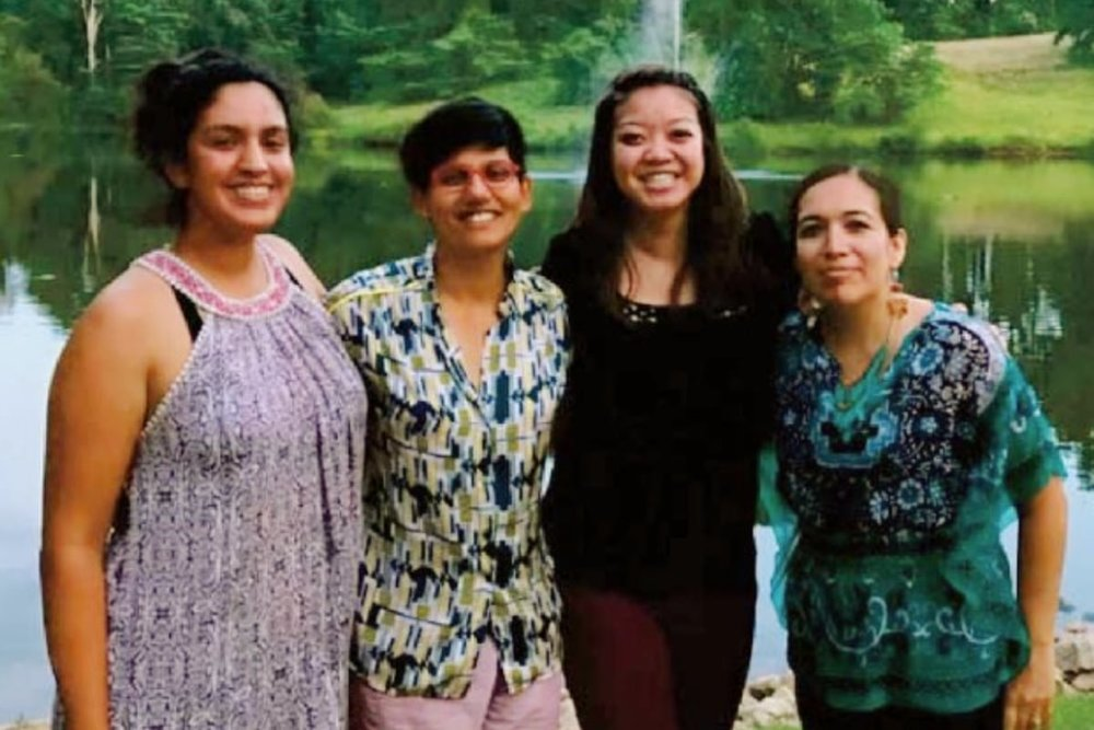 Last day in Warrenton, Virgnia with these passionate and inspiring community leaders. From left to right, Emily Cobar, Anita from Detroit, Stephanie from Seattle, and Amaris from Chicago (photo credit ee360 Team).