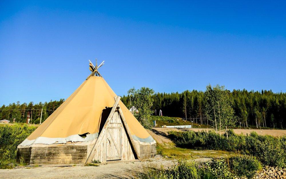 升級露營地點
