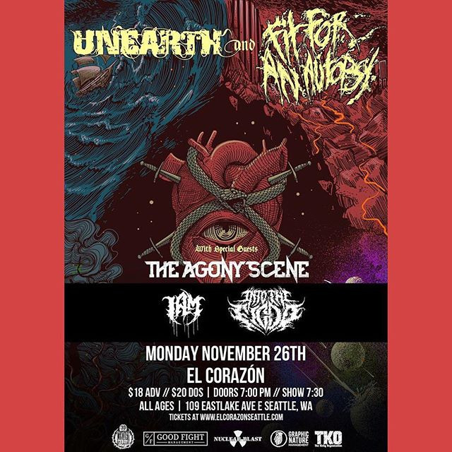Don't say you fuck with metalcore if you're not here. Hit us up for presales. We do digital sales as well 🙏🏻