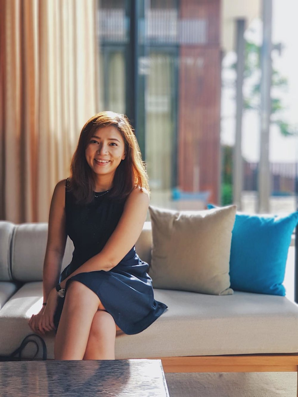 """- """"Since I've been working in AirAsia, I'm lucky enough to say I love my job and mean it. There are plenty of career opportunities across the group as long as you are passionate to learn and work hard.""""- Amanda Wong"""