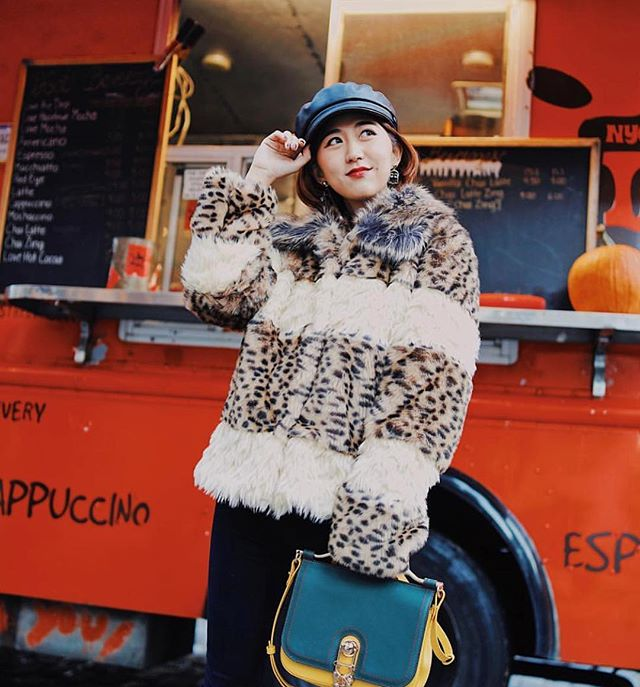 Z Best Dressed List maker @candice5bonbon shows us her winter style! Find her closet now on @trench ✨