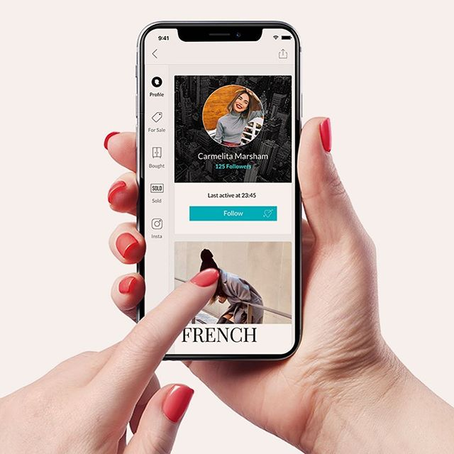 The newest way to shop. Click the link in our bio to download the app. 💕