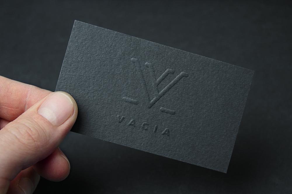 Vacia Logo Design