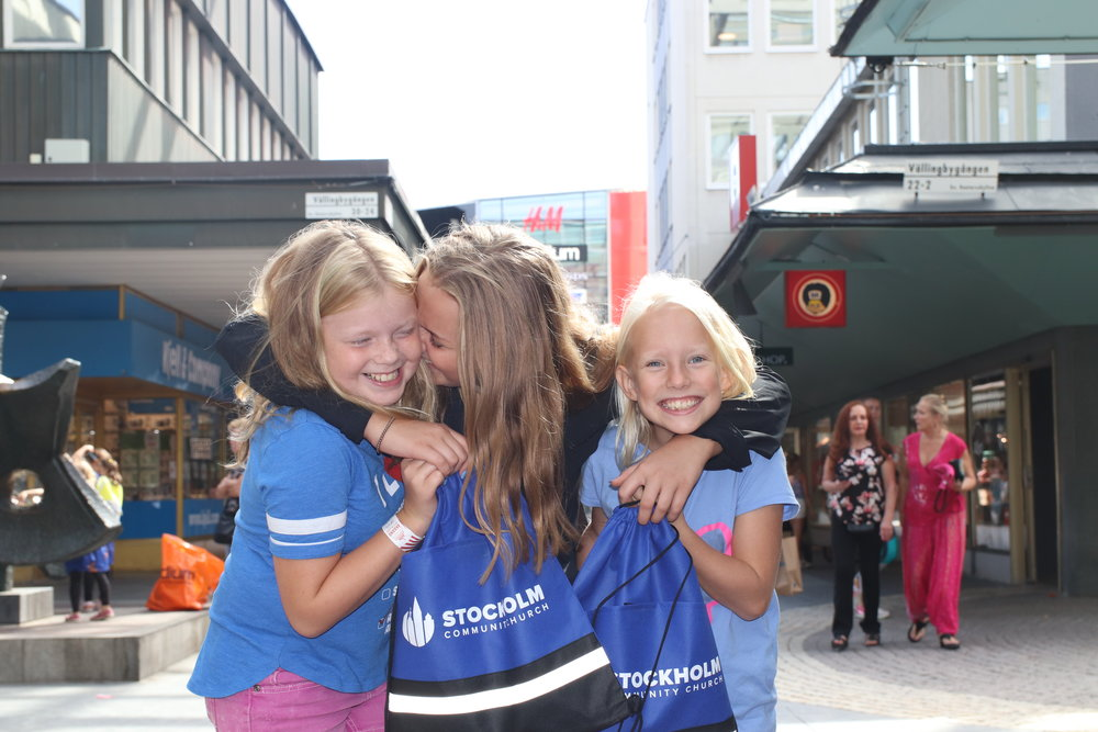 Stockholm kids - Have kids and want to find out more about our amazing kids ministry?