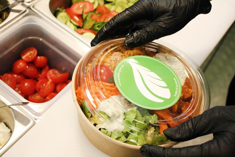 Salat Bowl Lieferservice
