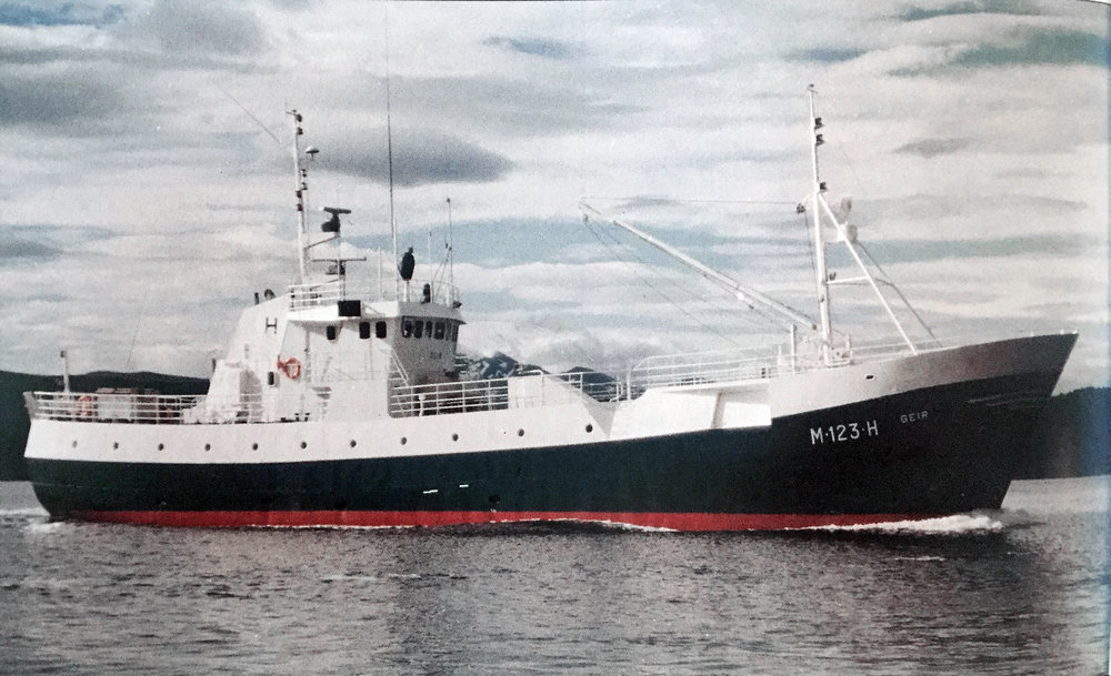 Longliner Geir marked the starting point for line caught sea frozen fillet in 1983.