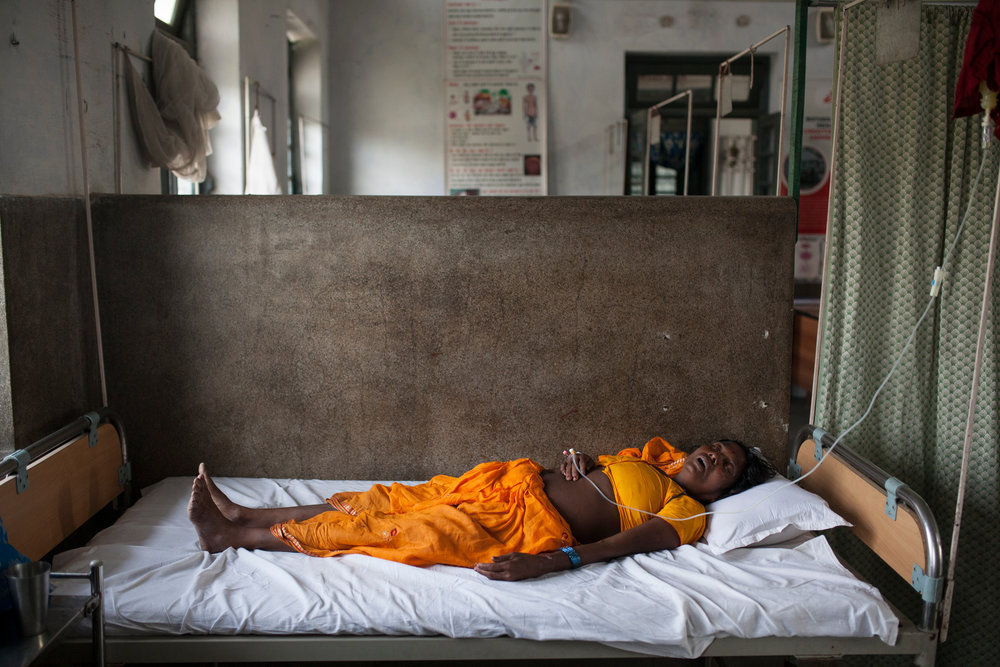 Locals may spend thousands of rupees seeking treatment from local quacks, an absolute fortune, until ending up in Hajipur's Hospital and getting treatment for free.