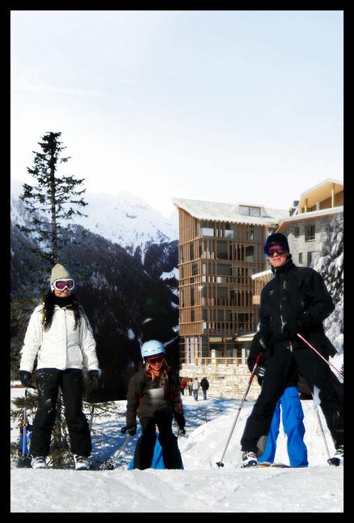 3. ski in ski out - Il massimo per lo sciatore: uscire da casa con gli sci ai piedi e finire la discesa direttamente nella propria skiroom. Dimenticare auto, parcheggi, bus, depositi, zaini, cambi. Dalla pista a casa e viceversa senza barriere.