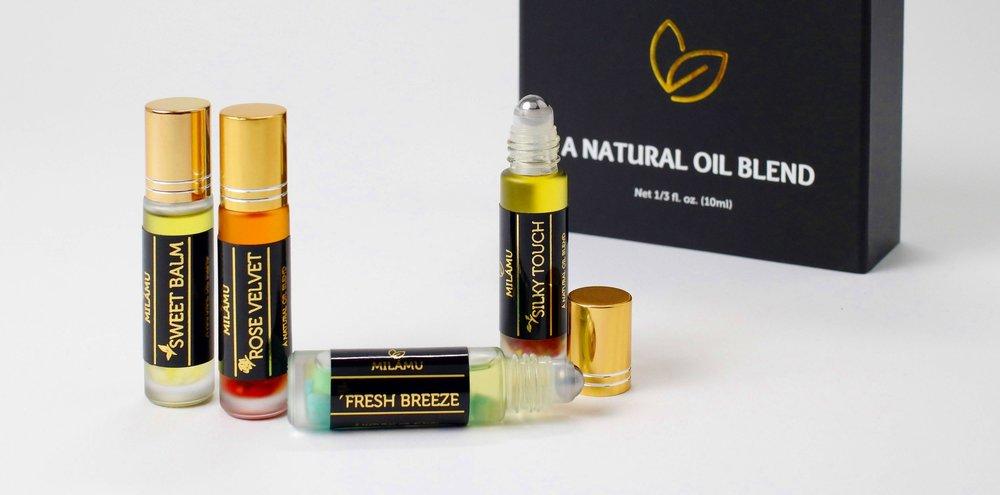 NATURAL OIL BLENDS -